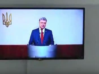 Допит Петра Порошенка у справі про держзраду Януковича