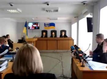 Судове засідання у справі за обвинуваченням В.Януковича у державній зраді, 21.03.2018