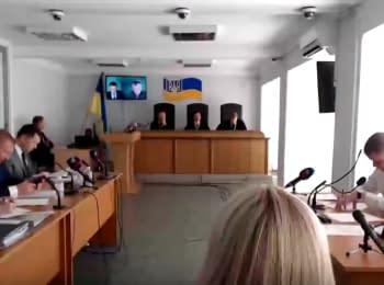 Судове засідання у справі за обвинуваченням В.Януковича у державній зраді, 06.06.2018