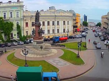 Odessa, Catherine square