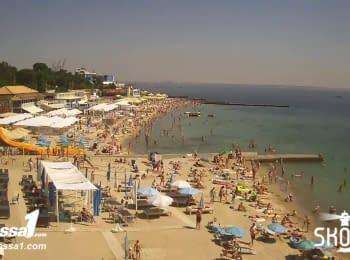 Одесса, пляж Ланжерон