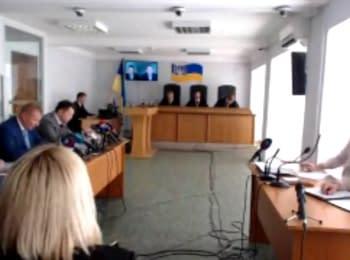 Судове засідання у справі за обвинуваченням В.Януковича у державній зраді, 08.06.2018