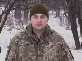 ATO spokesman Oleg Sushinsky. Digest on 23.03.2018