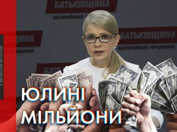 """Our Money"": Party of Tymoshenko received millions from fake donors"