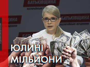 """""""Наші Гроші"""": Партія Тимошенко отримала мільйони від фейкових донорів"""