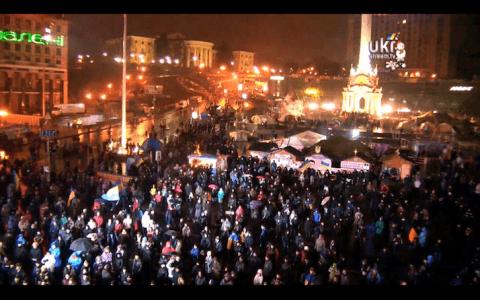 Друга камера на Майдані.