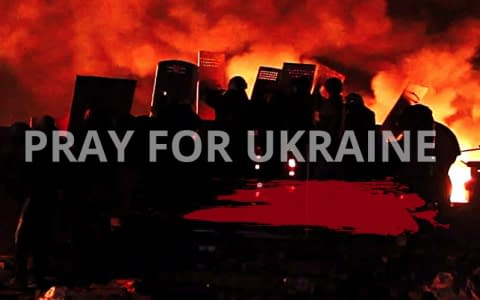 "UkrStream.TV working on a creation of documentary ""Pray for Ukraine"""