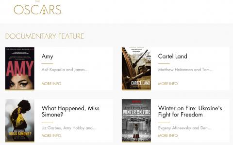 """Кінострічку """"Winter on Fire"""" номіновано на премію Оскар у категорії """"Кращий документальний фільм""""!"""