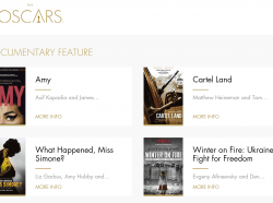 """Киноленту """"Winter on Fire"""" номинирована на премию Оскар в категории """"Лучший документальный фильм""""!"""